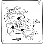 Comic Characters - 101 Dalmatians 1