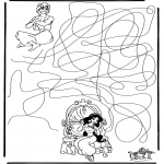 Crafts - Aladdin labyrinth