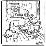 Bible coloring pages - Ananias