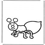 Animals coloring pages - Ant
