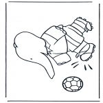 Kids coloring pages - Babar 11