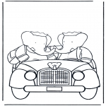 Kids coloring pages - Babar 5