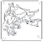 Comic Characters - Bambi 1