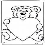 All sorts of - Bear with heart