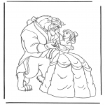 Comic Characters - Beauty and the Beast 3