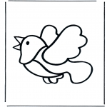 Animals coloring pages - Bird
