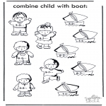 Crafts - Boat and child