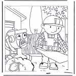 Kids coloring pages - Bob the Builder 1
