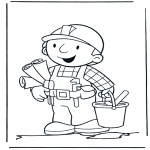 Kids coloring pages - Bob the Builder 10