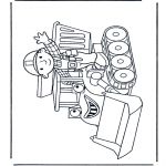 Kids coloring pages - Bob the Builder 12