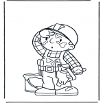 Kids coloring pages - Bob the Builder 14