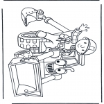 Kids coloring pages - Bob the Builder 15