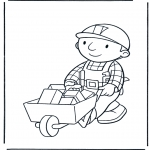 Kids coloring pages - Bob the Builder 16
