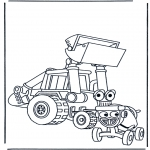 Kids coloring pages - Bob the Builder 18