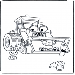 Kids coloring pages - Bob the Builder 19