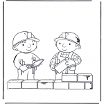 Kids coloring pages - Bob the Builder 2