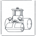 Kids coloring pages - Bob the Builder 21