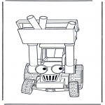 Kids coloring pages - Bob the Builder 22