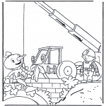 Kids coloring pages - Bob the Builder 3
