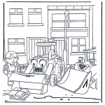 Kids coloring pages - Bob the Builder 4