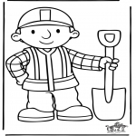 Kids coloring pages - Bob the Builder 5