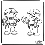 Kids coloring pages - Bob the Builder 6