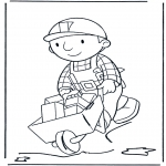 Kids coloring pages - Bob the Builder 9
