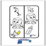 Crafts - Bookmark Baby