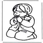 All sorts of - Boy pray