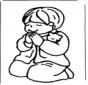 Boy pray