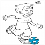 All sorts of - Boy with football