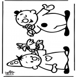 Kids coloring pages - Bumba 1