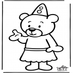 Kids coloring pages - Bumba 10