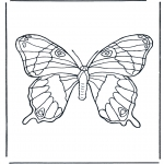 Animals coloring pages - Butterfly 1