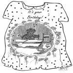 Crafts - Card birthday 2