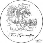 Crafts - Card for grandpa
