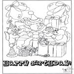 Crafts - Card happy birthday 1
