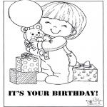 Crafts - Card happy birthday 2