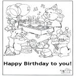 Crafts - Card happy birthday 5