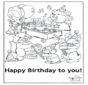 Card happy birthday 5