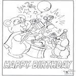 Crafts - Card happy birthday 7