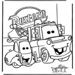 Comic Characters - Cars 1
