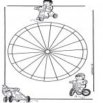 Mandala Coloring Pages - Children mandala 13