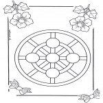 Mandala Coloring Pages - Children mandala 3