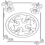 Mandala Coloring Pages - Children mandala 6