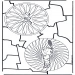 Mandala Coloring Pages - Children mandala