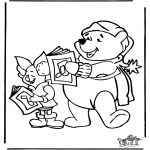 Christmas coloring pages - Christmas 11
