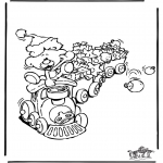 Christmas coloring pages - Christmas 18