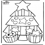 Christmas coloring pages - Christmas 21