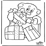 Christmas coloring pages - Christmas 24